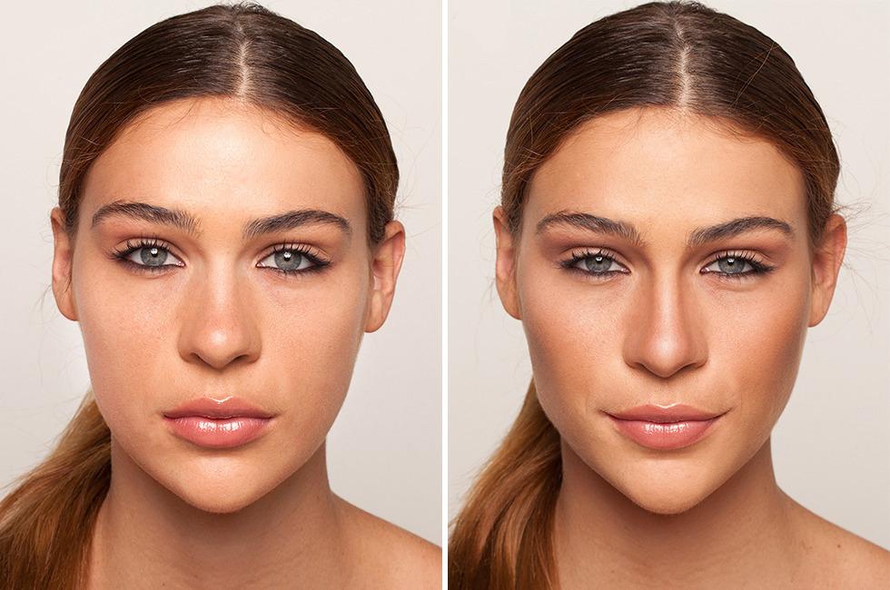 выбрали как на фотографии обесцветить свое лицо все