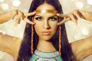 Египетский макияж глаз
