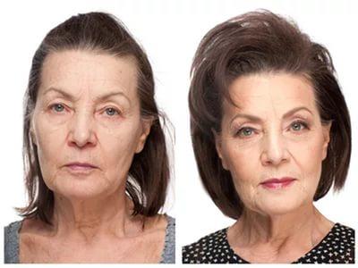макияж в сорок лет фото