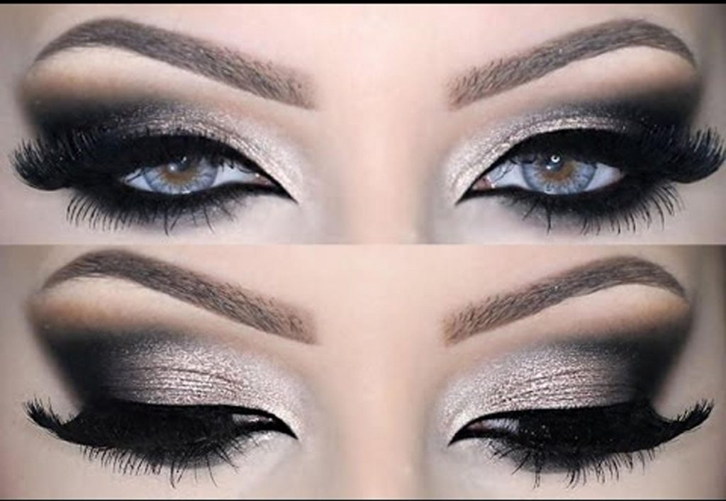 макияж для серых глаз. фото