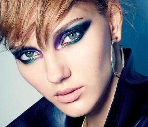 макияж в стиле рок