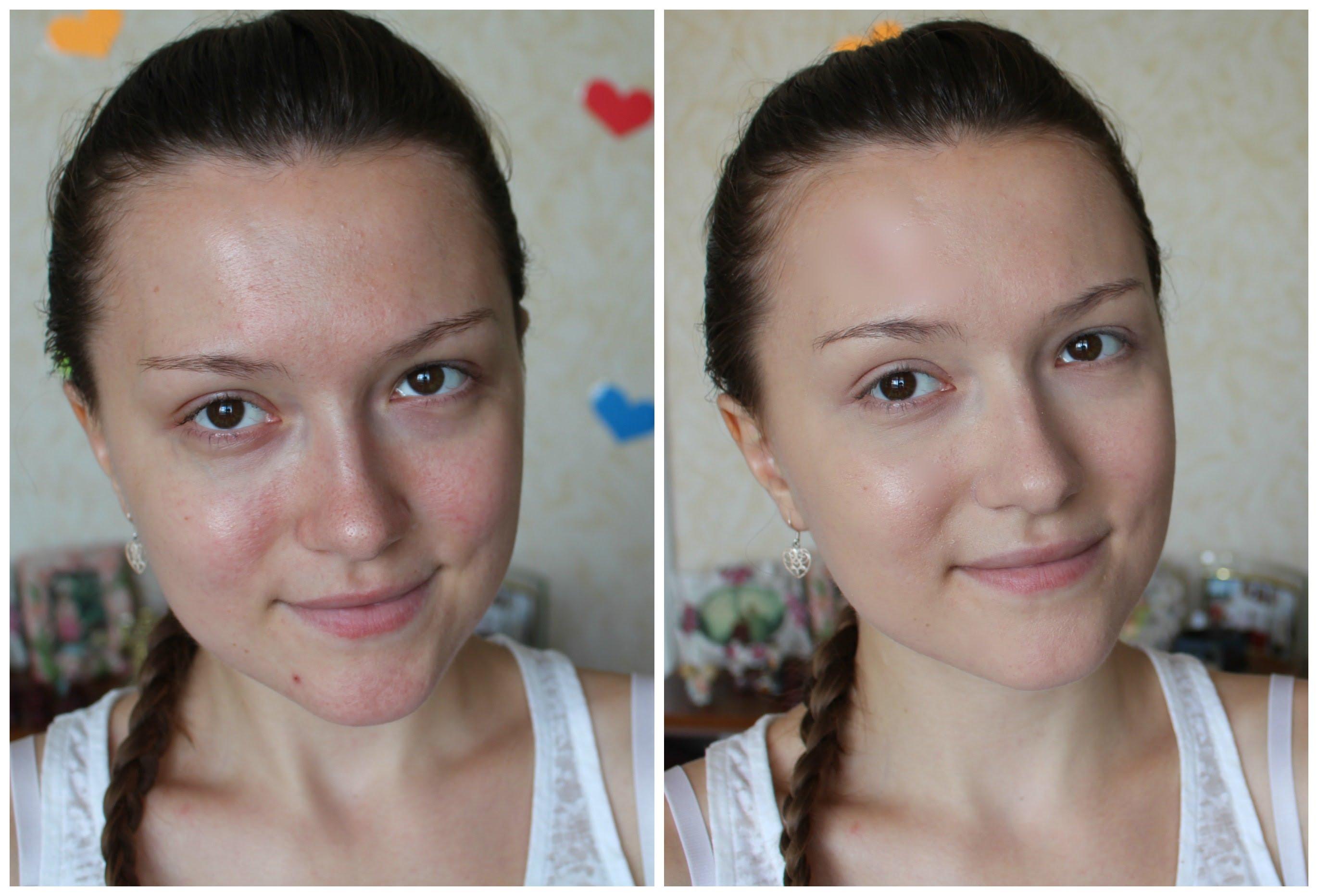 Как сделать тон лица косметикой 883