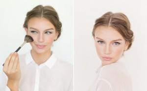 макияж для худого лица